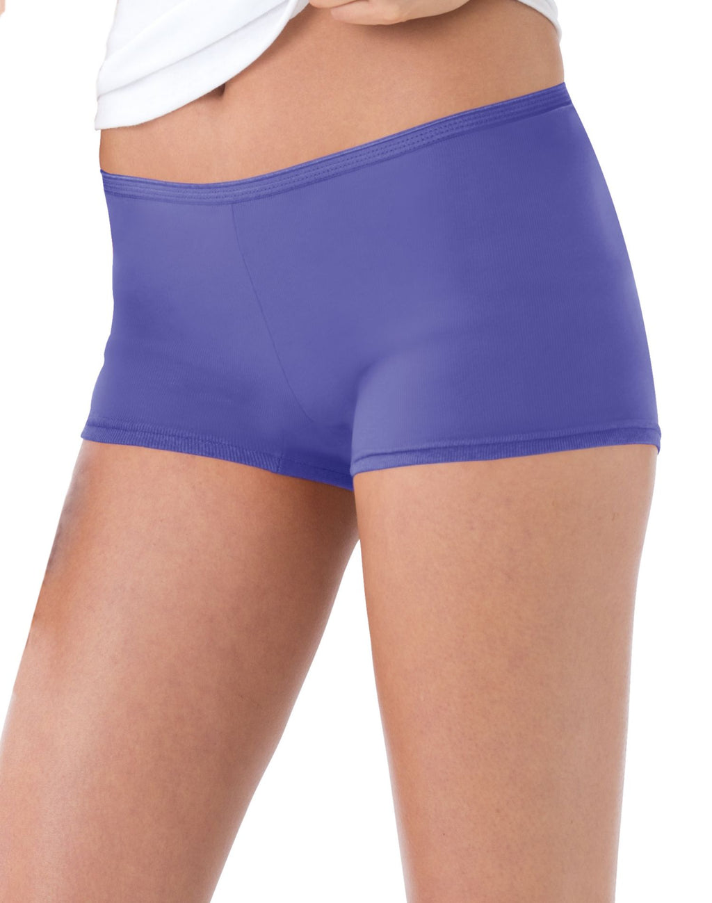 Hanes Women`s Cotton Boy Brief Panties