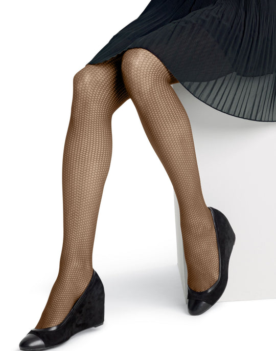 Hanes Silk Reflections Geo Texture Control Top Pantyhose 1 Pair Pack