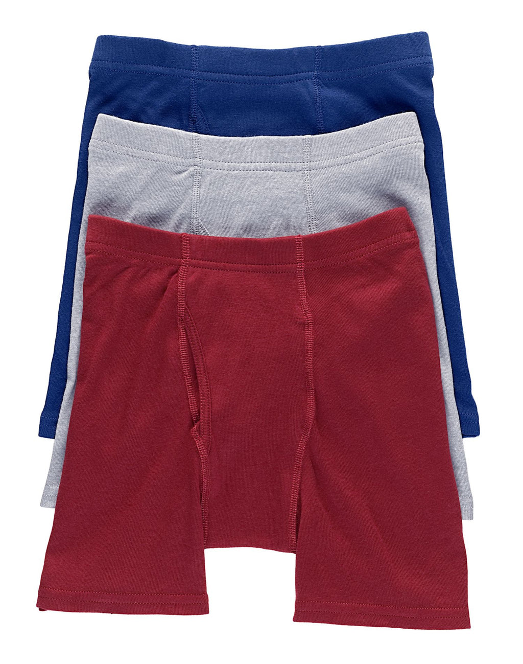 Hanes Classics Boy's ComfortSoft Dyed Boxer Briefs 3 Pack