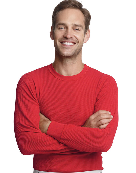 Hanes Men`s X-Temp Thermal Crew