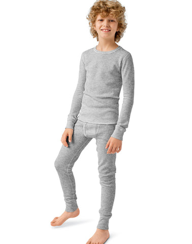 Hanes Boys Thermal X-Temp Underwear Set
