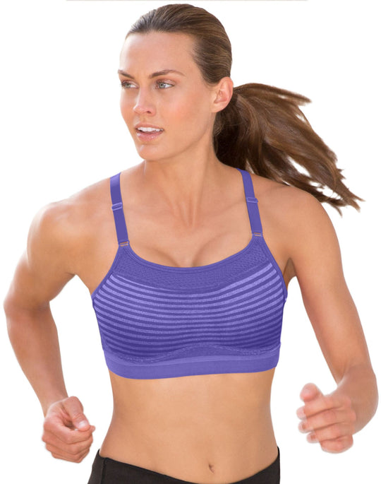 Champion Women's  The Show-Off Maximum Control Wirefree Sports Bra