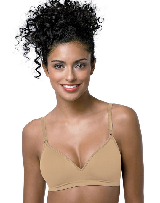 Hanes ComfortFlex Fit Contoured Shaping Wirefree Bra