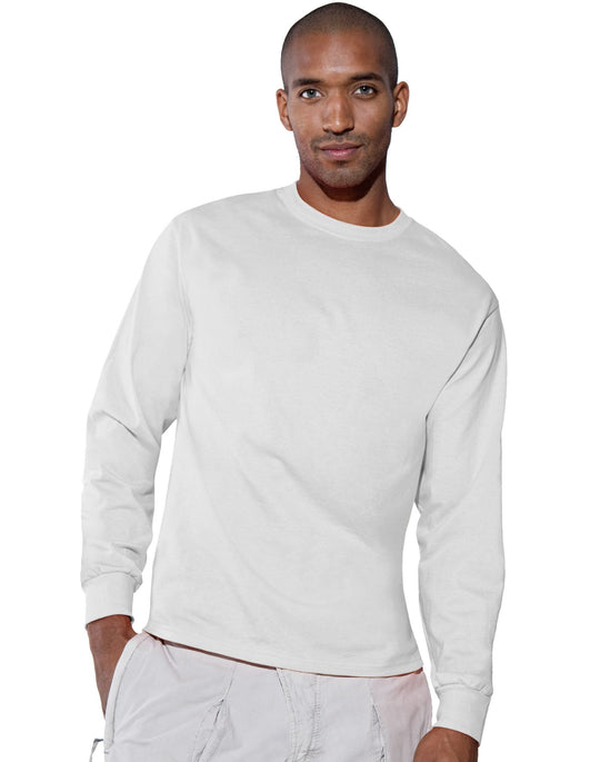 Hanes TAGLESS 6.1 oz. Comfortsoft Long Sleeve T-Shirt