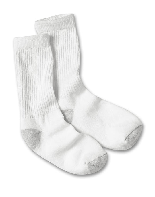 Hanes Women's Cushion Crew Socks - Larger Shoe Size 6 Pairs