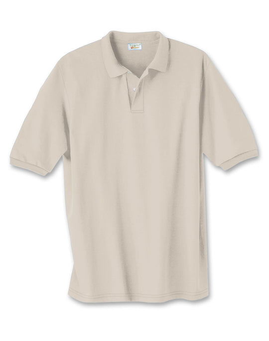 Hanes Cotton-Blend Jersey Men's Polo