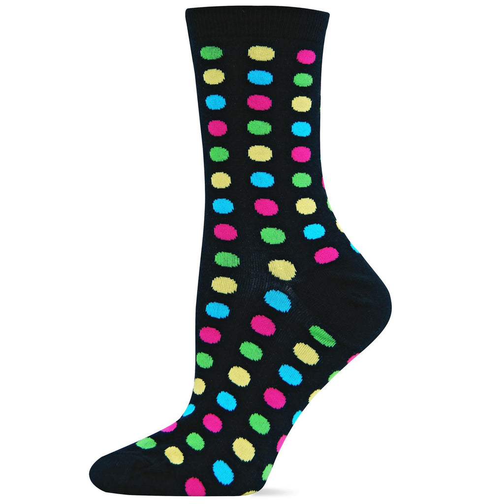 Hot Sox Womens Classic Large Dot Sock