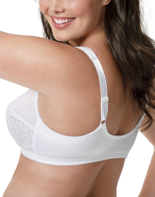 JMS Comfort Cushion Strap Front Close Wirefree Bra