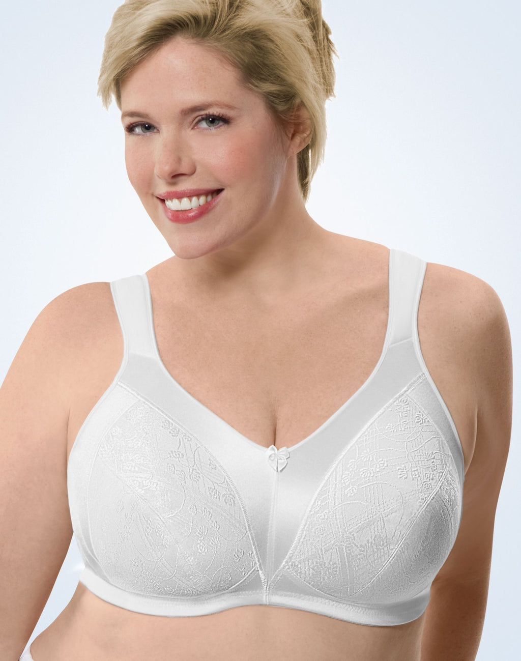 JMS Cushion Strap Wirefree Minimizer Soft Cup Bra