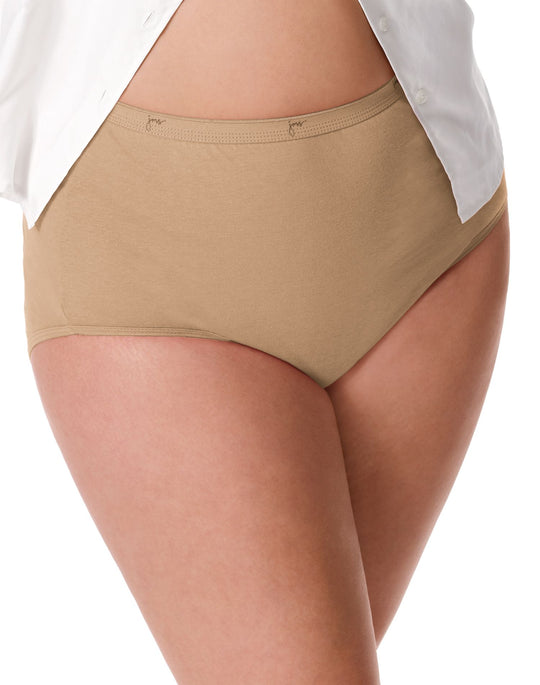JMS Cotton Tagless Basic Assortment Panties 5-Pack