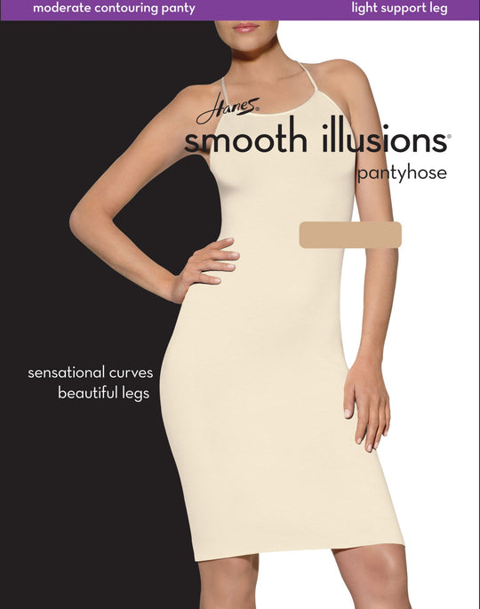Hanes Smooth Illusions Shaping Pantyhose with Energizing Leg 1 pair