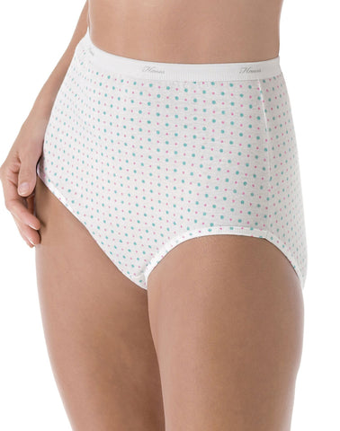 Hanes Plus Size Women's Cotton Briefs 5-Pack