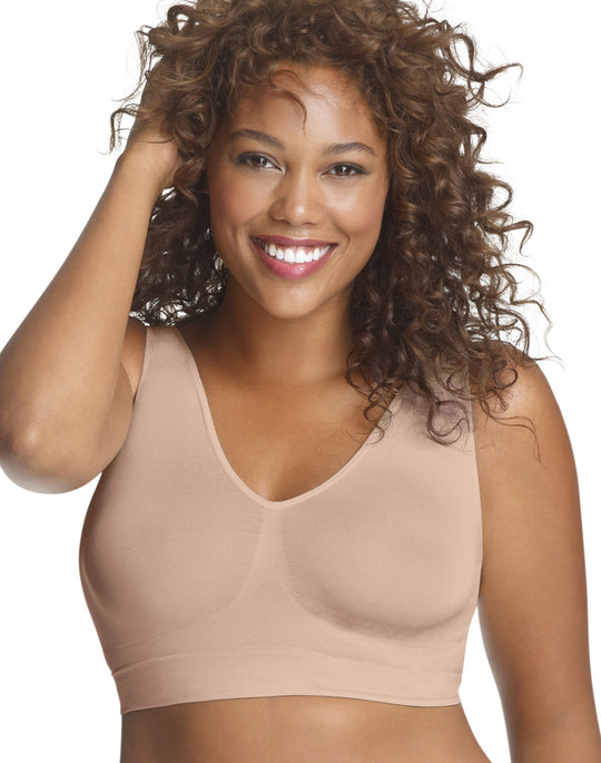 Just My Size Women's Pure Comfort Seamless Wirefree Bra