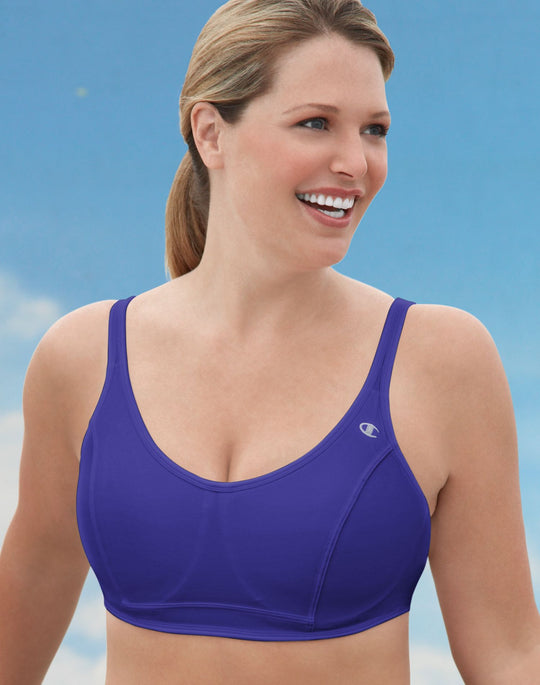 Champion Scoop Back Full Support Underwire Maximum Control Sports Bra
