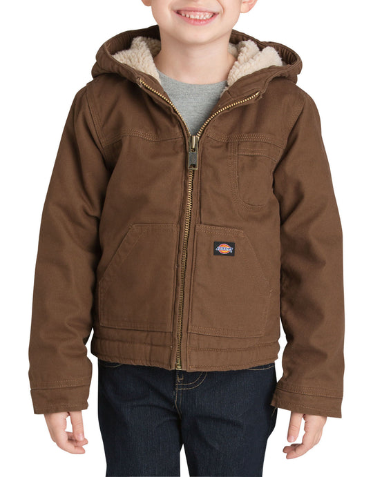 Dickies Boys Sherpa Lined Duck Jacket, Sizes 4-7