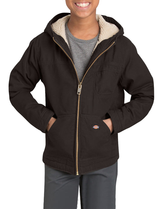 Dickies Boys Sherpa Lined Duck Jacket, Sizes 8-20