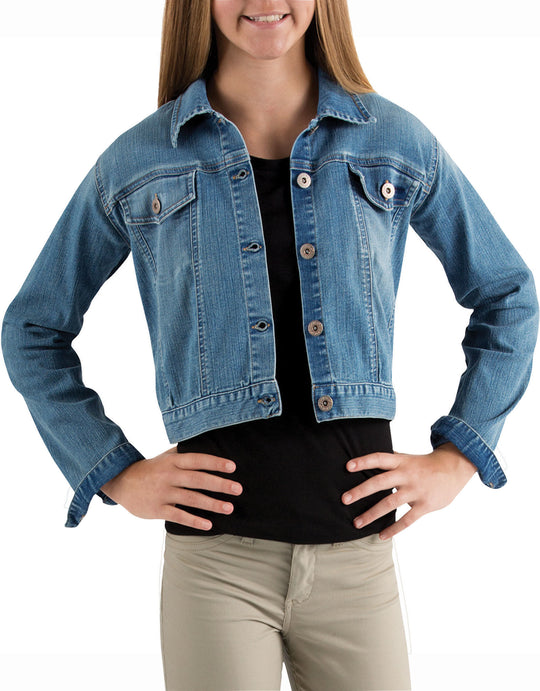 Dickies Girls Denim Jacket, Sizes 8-20