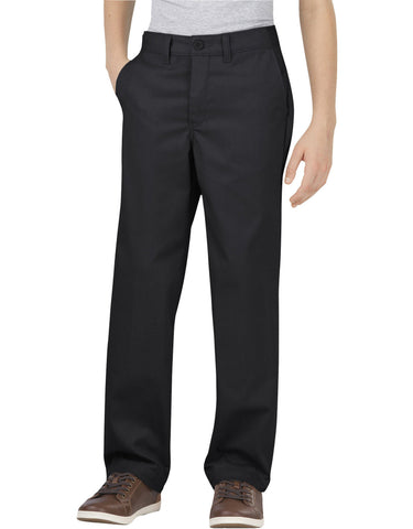 Dickies Boys Flex Classic Fit Straight Leg Ultimate Khaki Pants, 8-20 Husky
