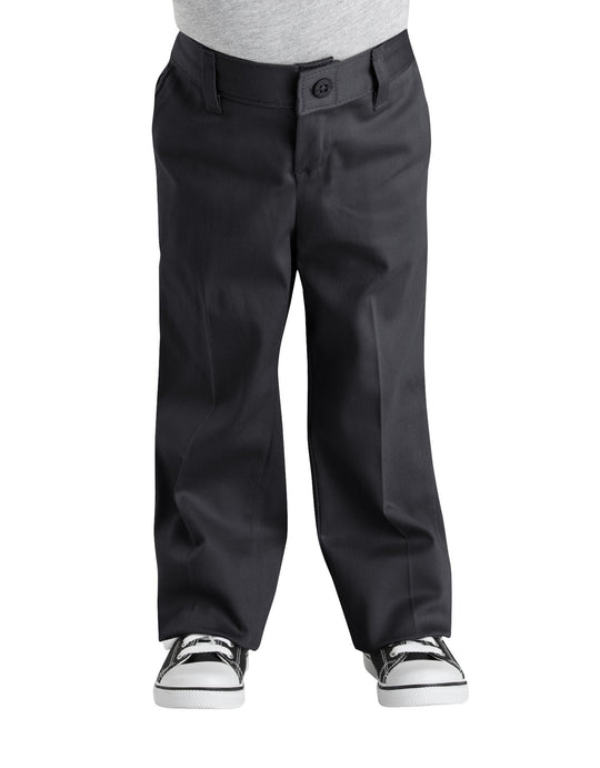 Dickies Girls Classic Fit Straight Leg Stretch Twill Pants, 4-6