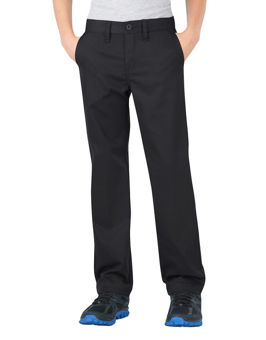 Dickies Boys FlexWaist® Slim Fit Straight Leg Ultimate Khaki Pants, 4-7