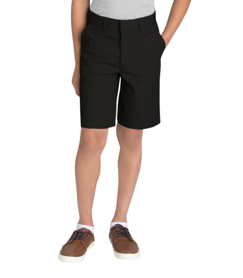 Dickies Boys FlexWaist Flat Front Shorts, 8-20 Husky