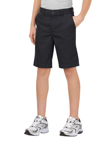 Dickies Boys Flex Waist Stretch Flat Front Short
