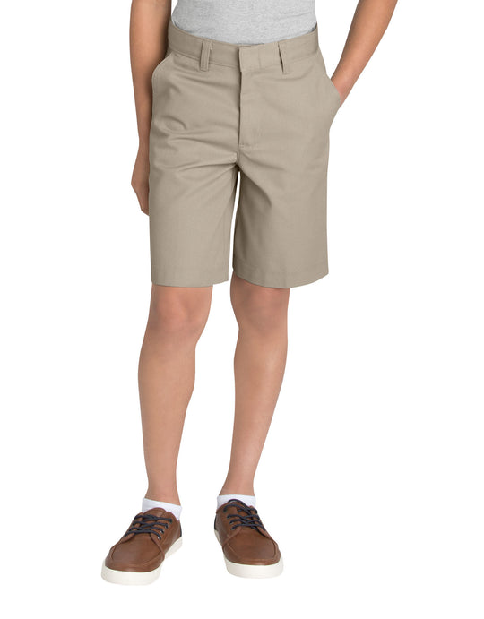 Dickies Boys FlexWaist Flat Front Shorts, 8-20