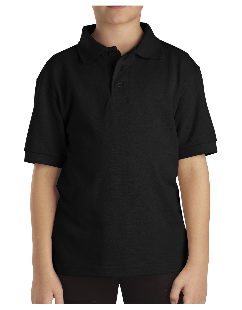 Dickies Boys Short-Sleeve Pique Polo Shirt - 4-7