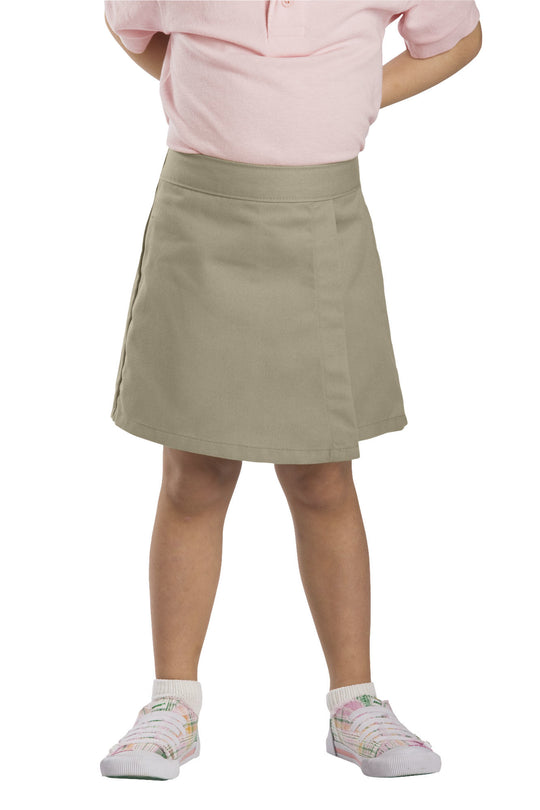 Dickies Girls Faux Wrap Skort, 4-6