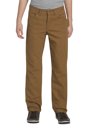 Dickies Boys Straight Leg Carpenter Duck Pants, 8-18