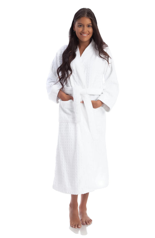 Gemsli Womens Luxurious Kimono Terry Robe