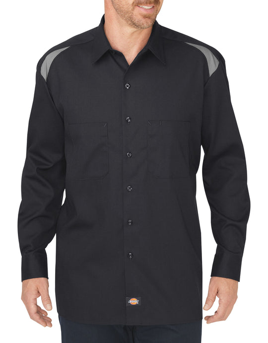 Dickies Mens Long Sleeve Performance Team Shirt
