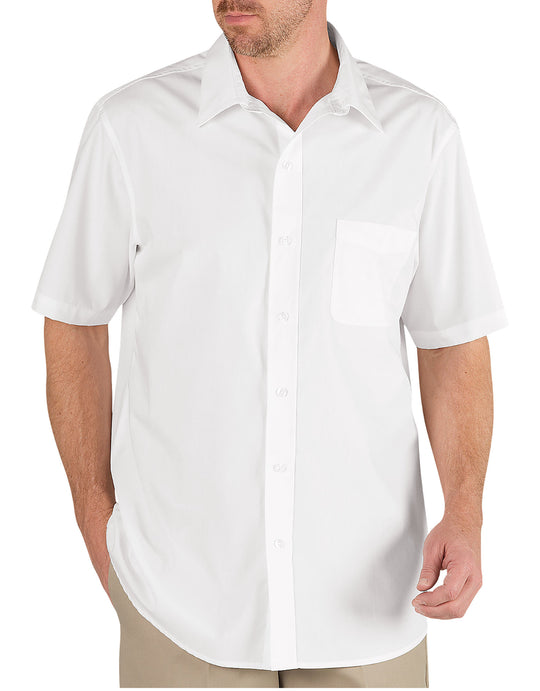 Dickies Mens Short Sleeve Executive Dress Shirt