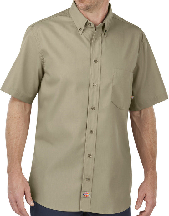 Dickies Mens Industrial Flex Comfort Short Sleeve Shirt