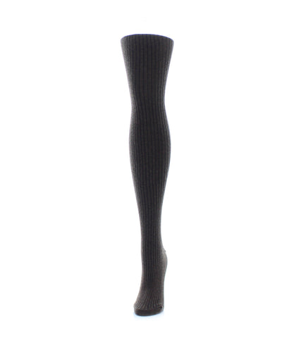 MeMoi Women`s Rib Sweater Tights