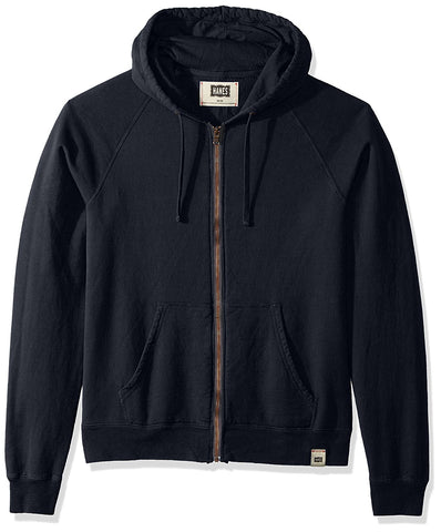 Hanes Mens 1901 Heritage Fleece Full Zip Hoodie
