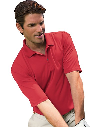 Outer Banks by Hanes Men's Cool DRI® Textured Performance Polo