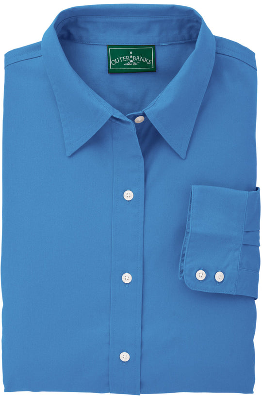 Outer Banks Womens Ultimate OB Twill Dress Shirt