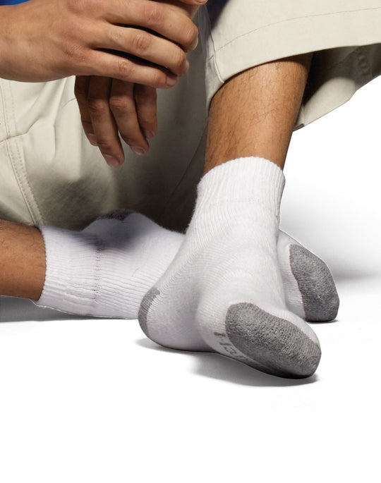Hanes Men`s Classics ComfortSoft Ankle Socks 6-Pack