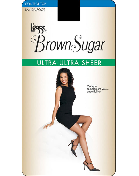 L'eggs Brown Sugar Ultra Ultra Sheer Control Top Pantyhose