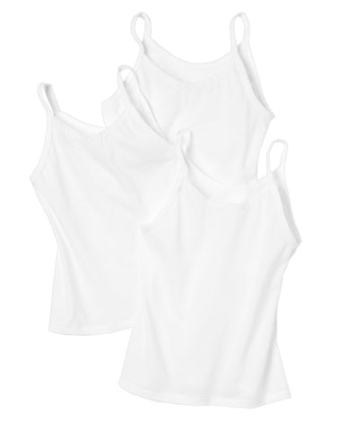 Hanes Toddler Girls' TAGLESS Camisole 3-Pack