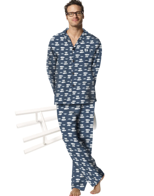 Hanes Men's 100% Cotton Flannel Pajamas