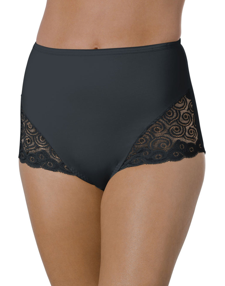 Bali Firm Control Lace Inset Brief 2-Pack - Best-Seller