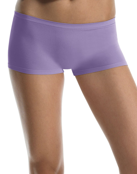 Hanes Body Creations Seamless Boy Short Panties 3-Pack