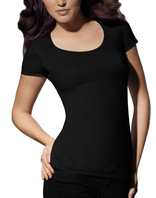 Bali Flawless Cotton Stretch Toning Tee