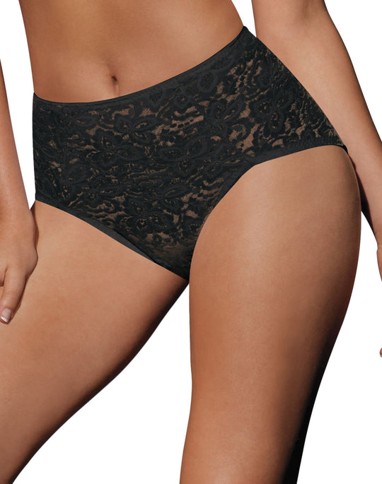 Bali Lace N Smooth Firm-Control Brief
