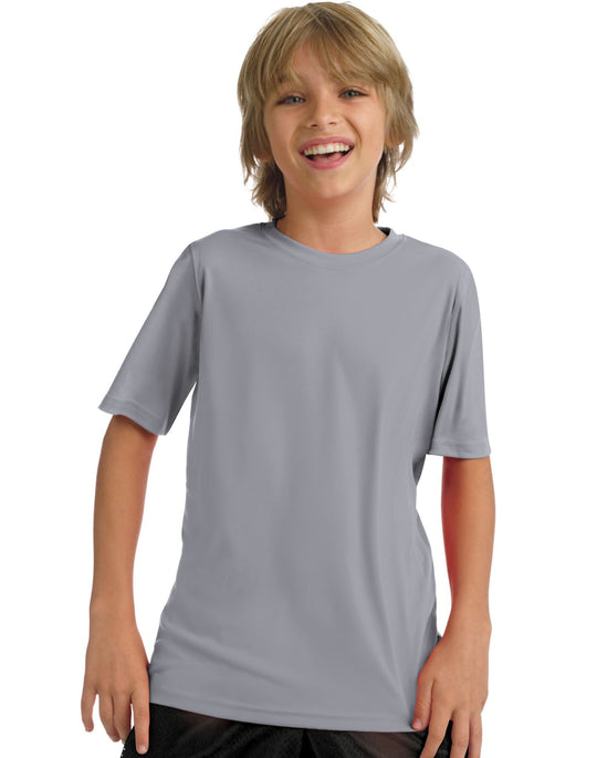 Hanes Youth 4 oz Cool Dri Short sleeve Performance T-Shirt