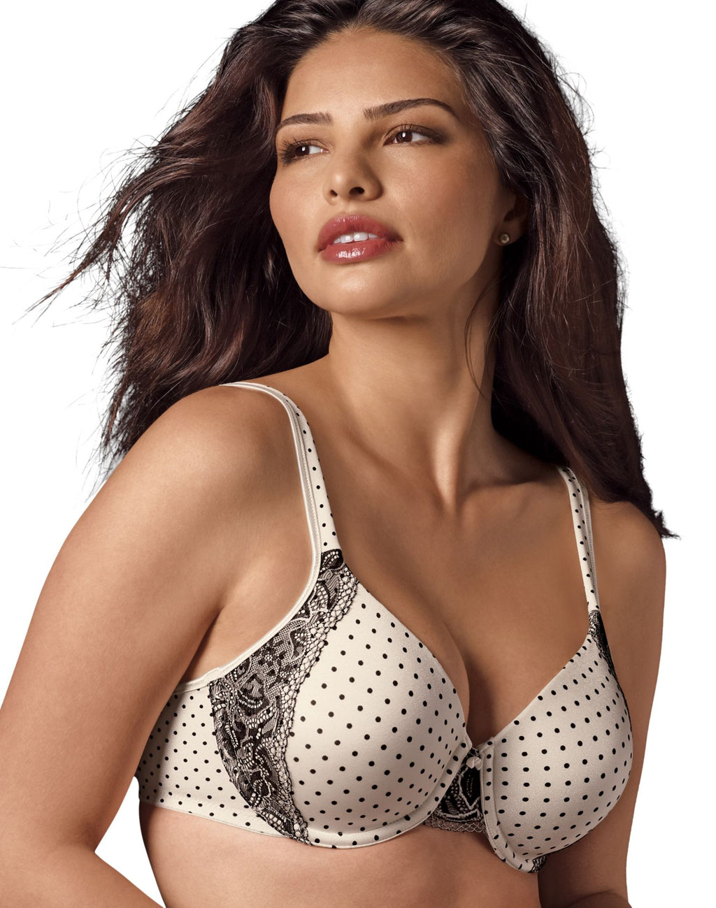 Bali One Smooth U with Lace Side Support Underwire Bra