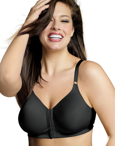 Playtex Women`s 18 Hour Sensationally Sleek Front-Close Wirefree Bra