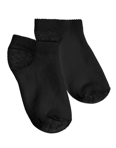 Hanes Boys No Show Comfortblend EZ Sort Socks 6-Pack